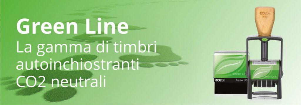timbri colop green line